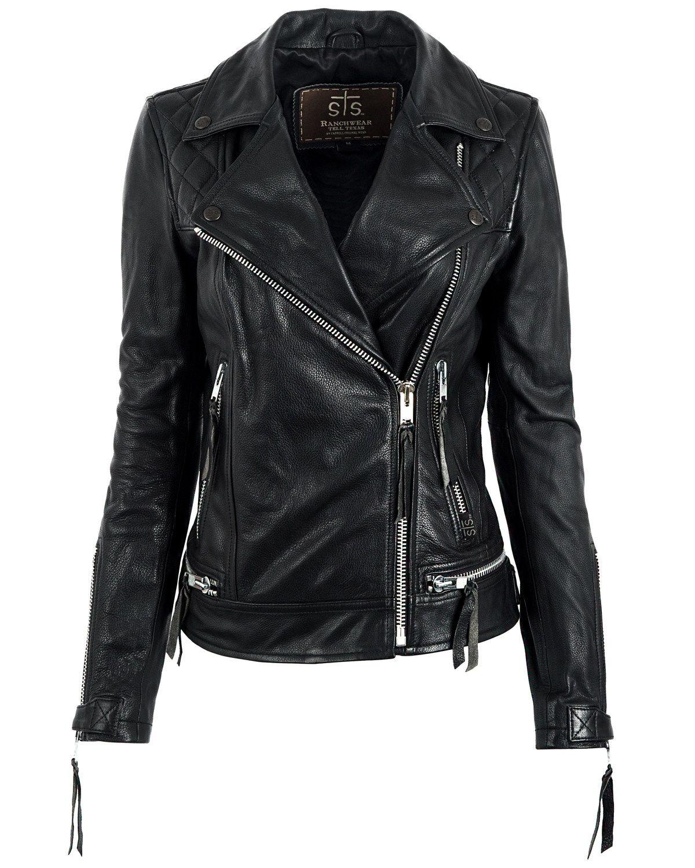 Sts Ranchwear Women S Black Dreamer Moto Leather Jacket In 2021 Leather Jackets Women Leather Jacket Faux Leather Jacket Women [ 1500 x 1200 Pixel ]