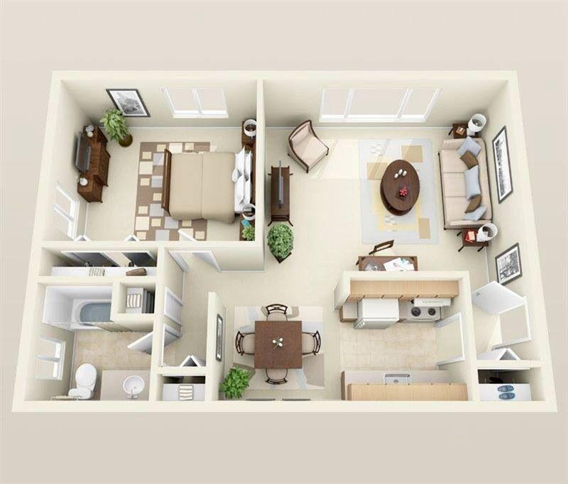 One Bedroom M2 Plans Pinterest Bedrooms