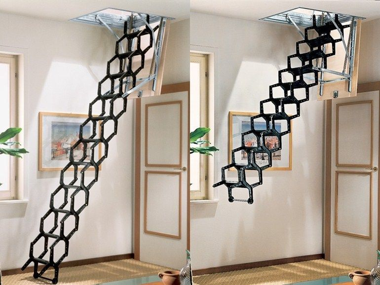 Escalier Escamotable Adj Rintal Retractable Stairs Small