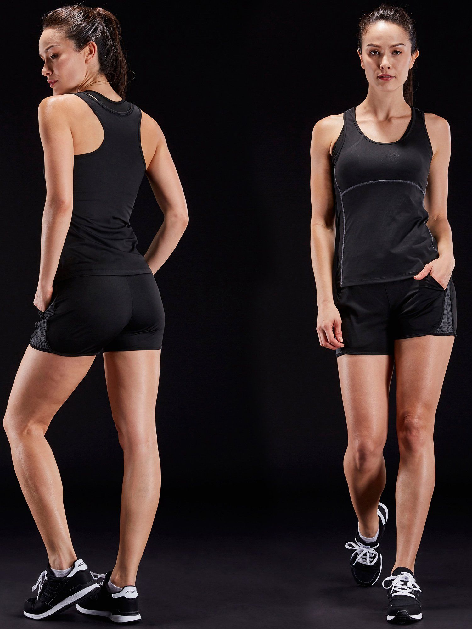 d1c75a39 Neleus Womens 3 Pack Dry Fit Compression Long Tank Top Athletic Shirts3 Pack:BlackGreenRedUS  XLEU 2XL *** Read more at the image link.