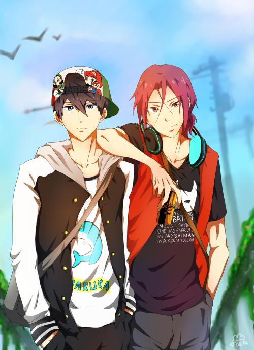 Free! ≖‿≖ Hot anime guys, Anime, Free iwatobi swim club