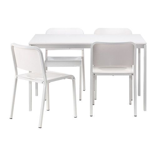 "Melltorp Table And 4 Chairs Ikea  49"" W X 29"" D X 29"" H  4' X 3 Enchanting Ikea Dining Room Chairs Sale 2018"