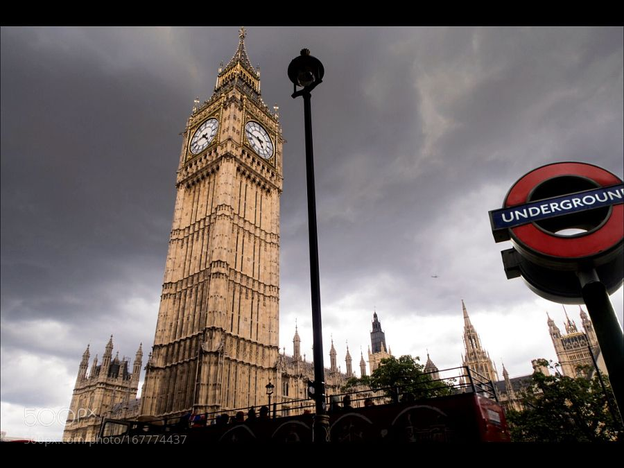 The Clock Tower. Big Ben by manuelesparzaf. @go4fotos