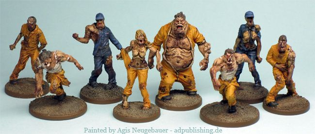 Agis Page Of Miniature Painting And Gaming Zombicide With