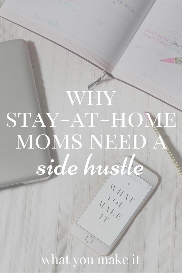 why stay-at-home moms need a side hustle | Hustle and Parents