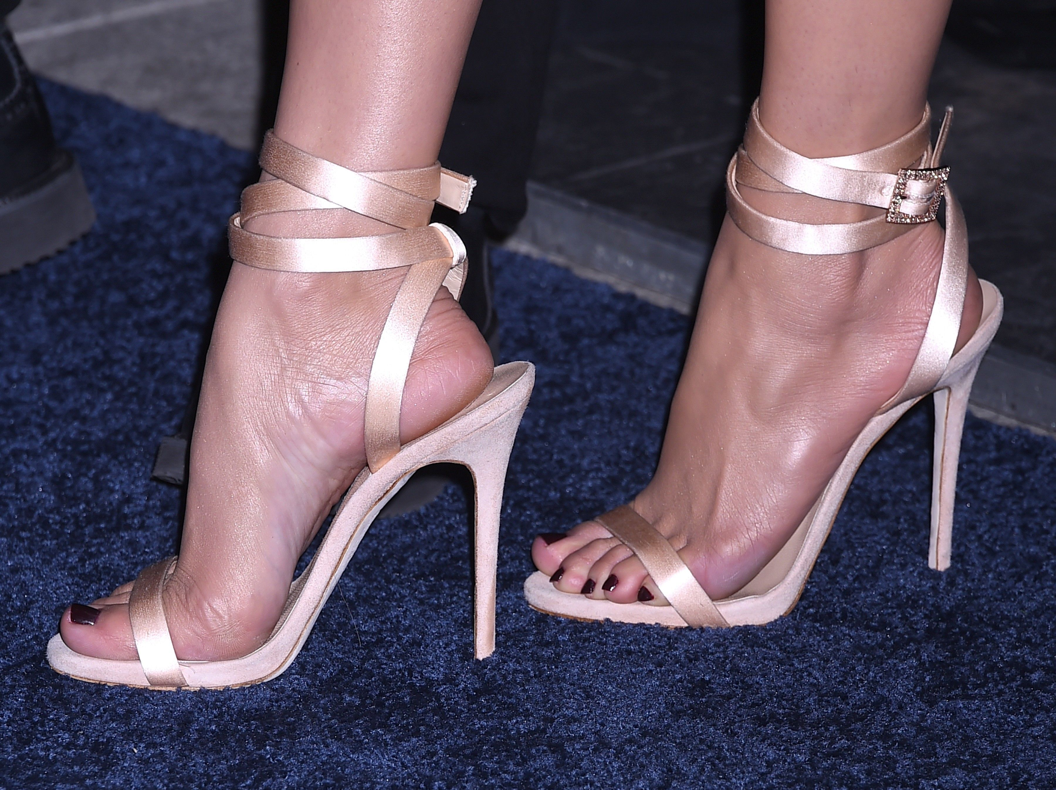 Swollen feet, cracked heels and crushed toes the times celebrity footwear went very wrong