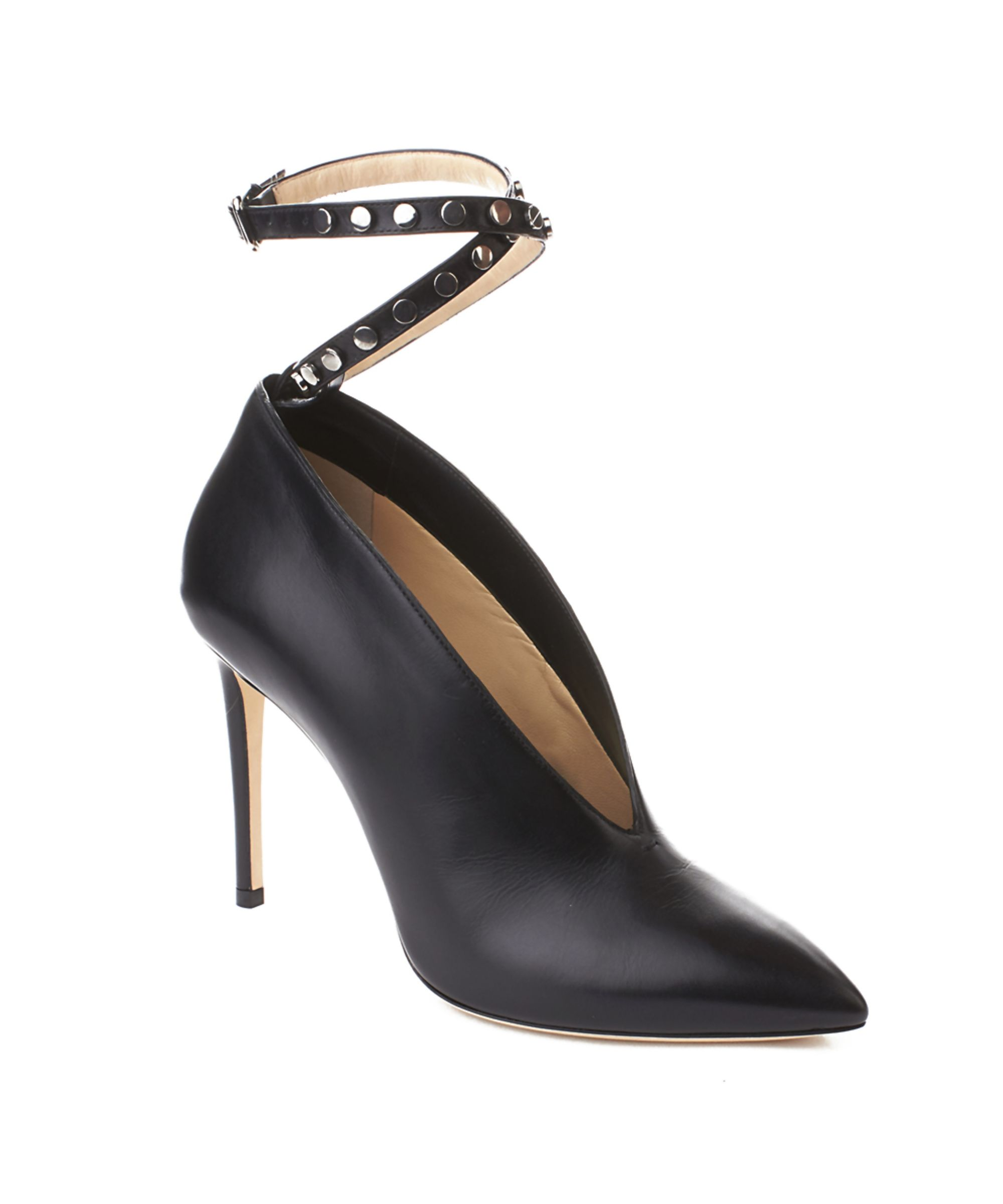 a82015d025 JIMMY CHOO   Jimmy Choo Women's 'lark 100' Leather Ankle Strapped High Heel  Pump Shoes Black #Shoes #Pumps & High Heels #JIMMY CHOO