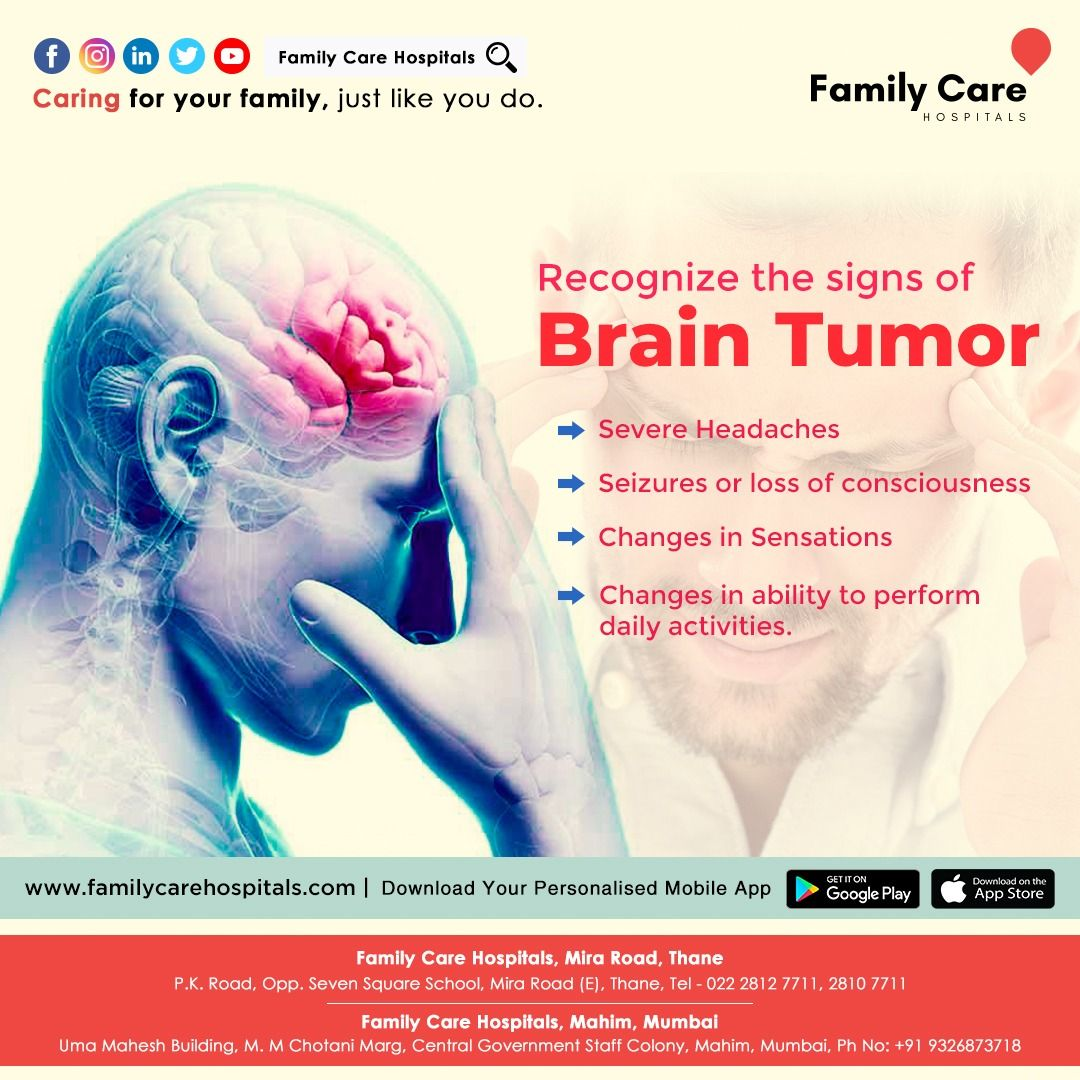 Brain Tumor Is A Growth Of Abnormal Cells In Your Brain In 2020 Abnormal Cells Care Hospital Health Check