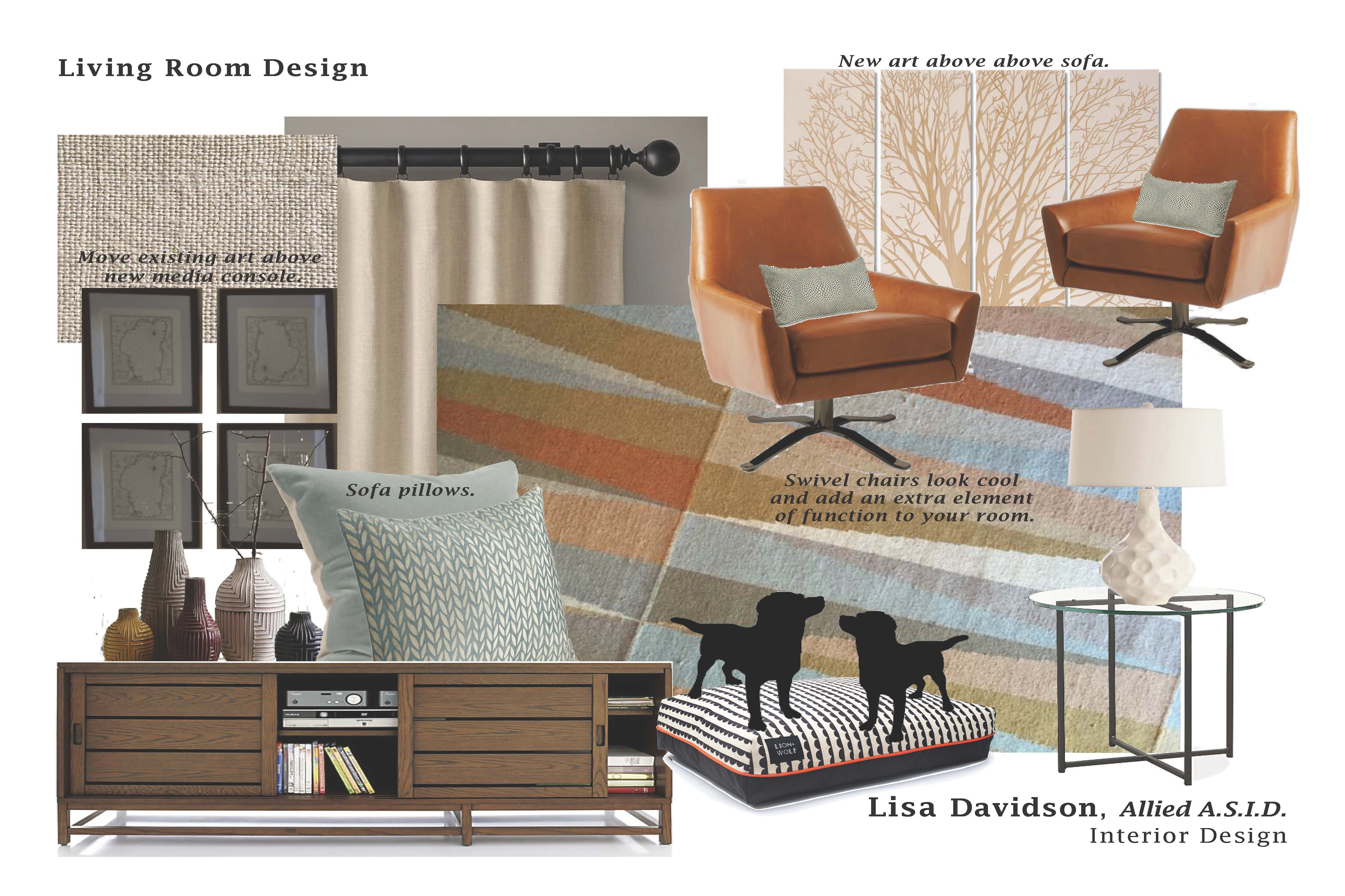 New Design Board  Modern And Earthy Living Room  Interior Design Alluring Design Your Living Room Online Inspiration