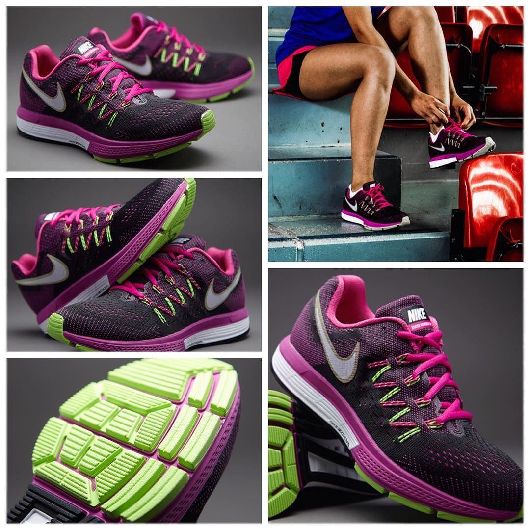 Black · Nike Womens Air Zoom Vomero 10 - Fuchsia ...