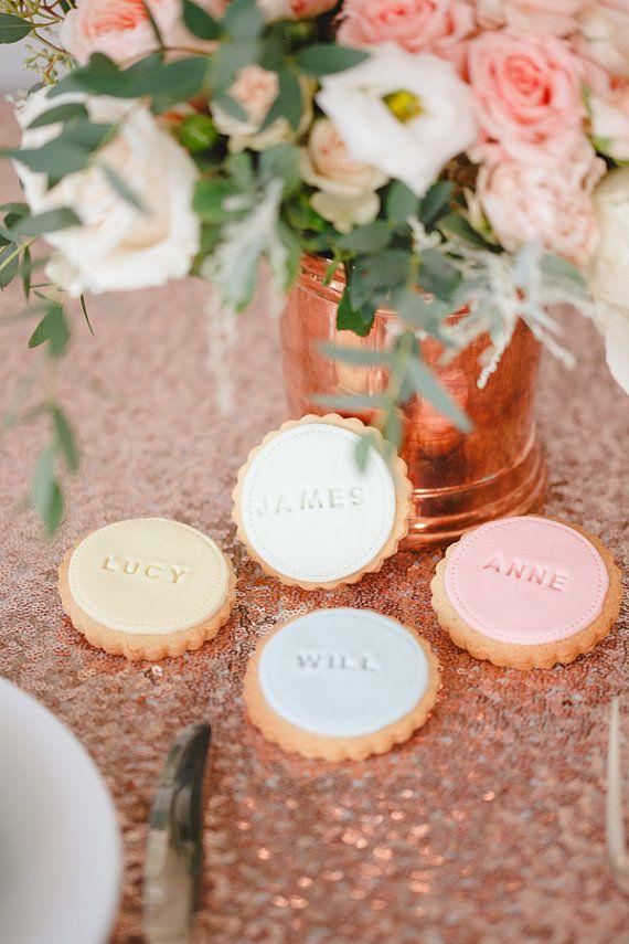 Hochzeit Gunst Kekse Personlichen Hochzeitsgeschenk Von Nilaholden