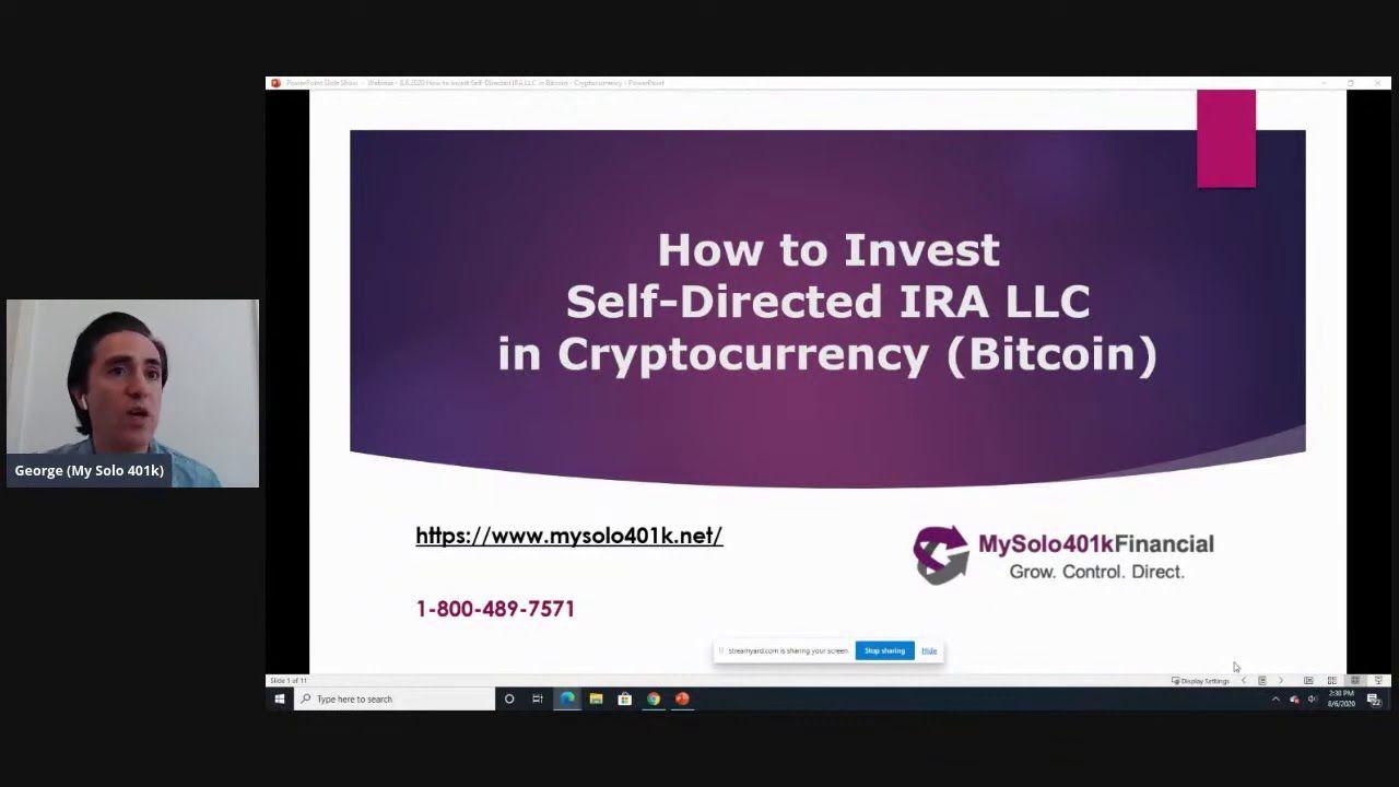 Questo è il primo Bitcoin IRA Approvato dall'IRS - Investire