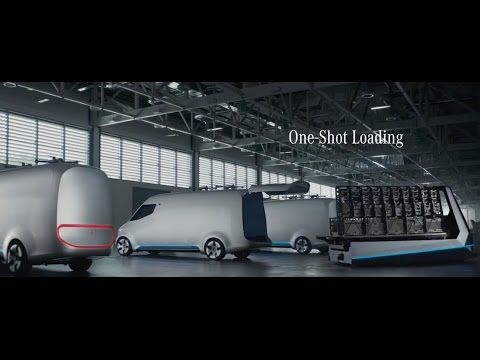 Mercedes-Benz Vision Van - Future of Transportation - Next Drone Sprinter - YouTube