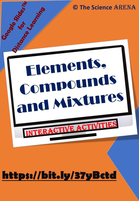 Elements Compounds Mixtures Google Slidestm Interactive Worksheets Compounds And Mixtures Interactive Activities Biology Activity [ 1440 x 998 Pixel ]