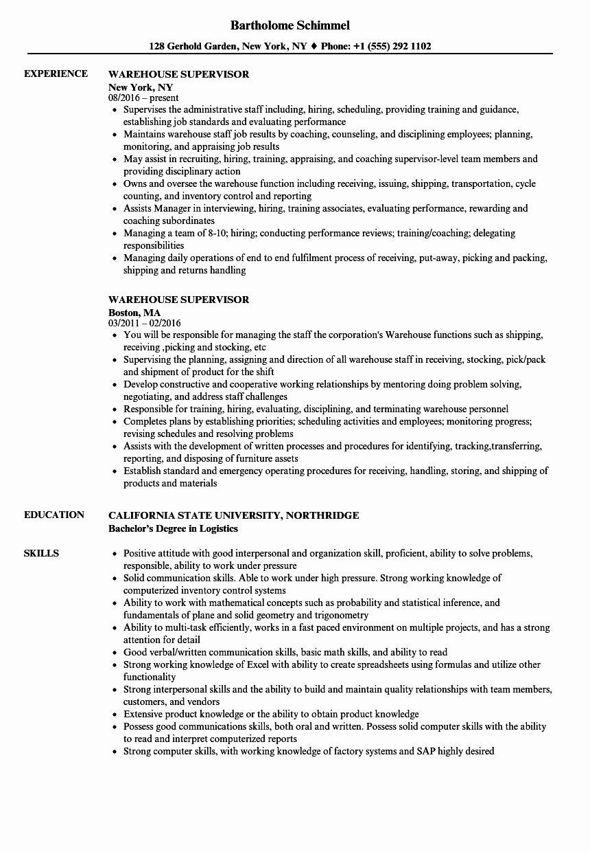 23 warehouse job description resume in 2020 job resume