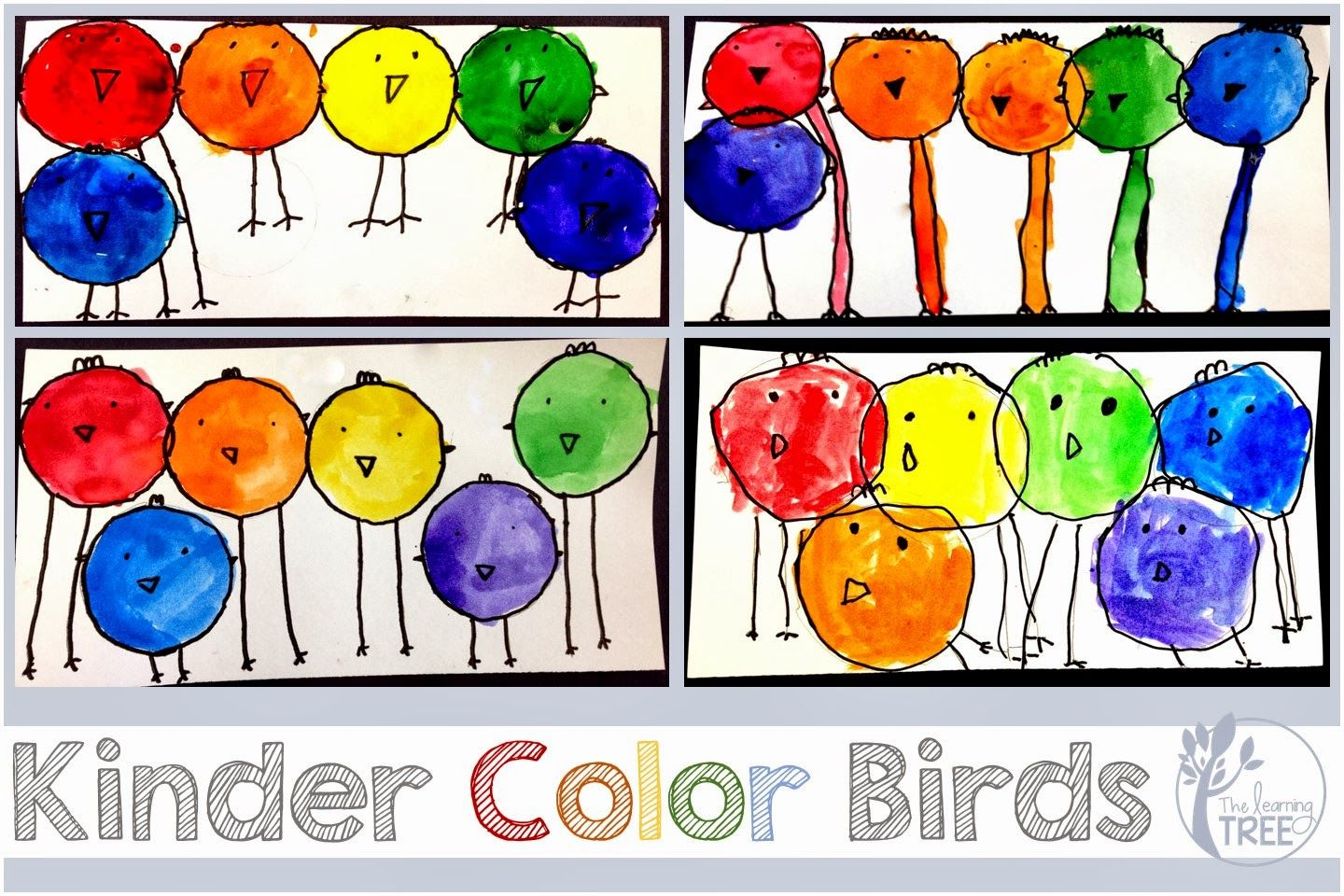 The Learning Tree Kinder Color Birds