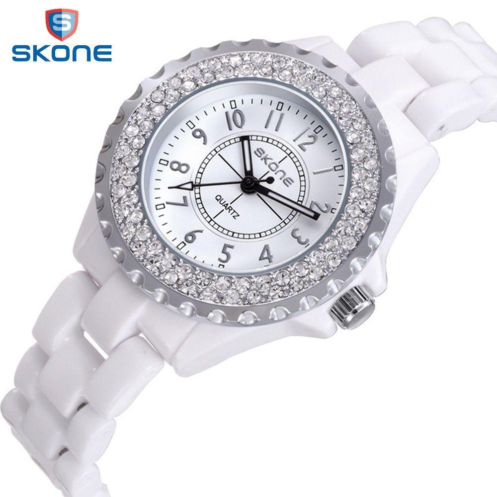 Skone Women Watches Women Top Famous Brand Luxury Casual Quartz