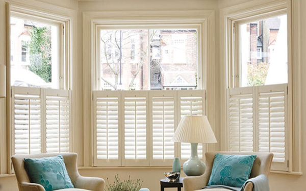 Cafe Style Shutters Cafe Style Shutters Living Room Blinds