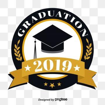 Circular Ribbon Graduation Cap 2019 Graduation Font Graduation Logo Graduation Crafts Ribbon Font
