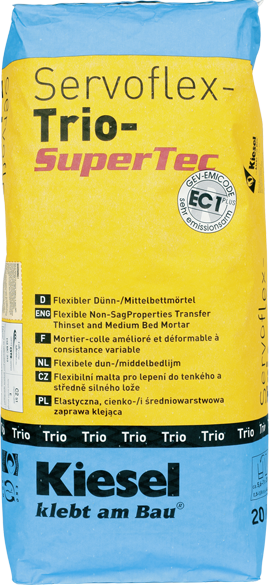 Trioflex A Medium Bed Mortar For Interior And Exterior Use Great For Installing Ditra And Heated Floor Mats Heated Floors Mortar Interior And Exterior