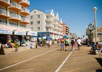 America S Best Boardwalks Ocean City Maryland Ocean City Boardwalk Ocean City