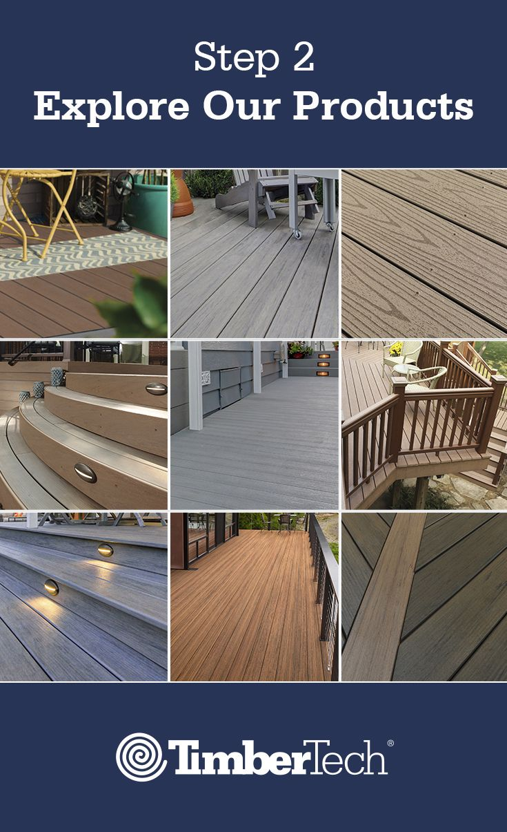 Deck Planning Step 2 Pick The Style And Colors That Represent You Deck Design Outdoor Deck Deck