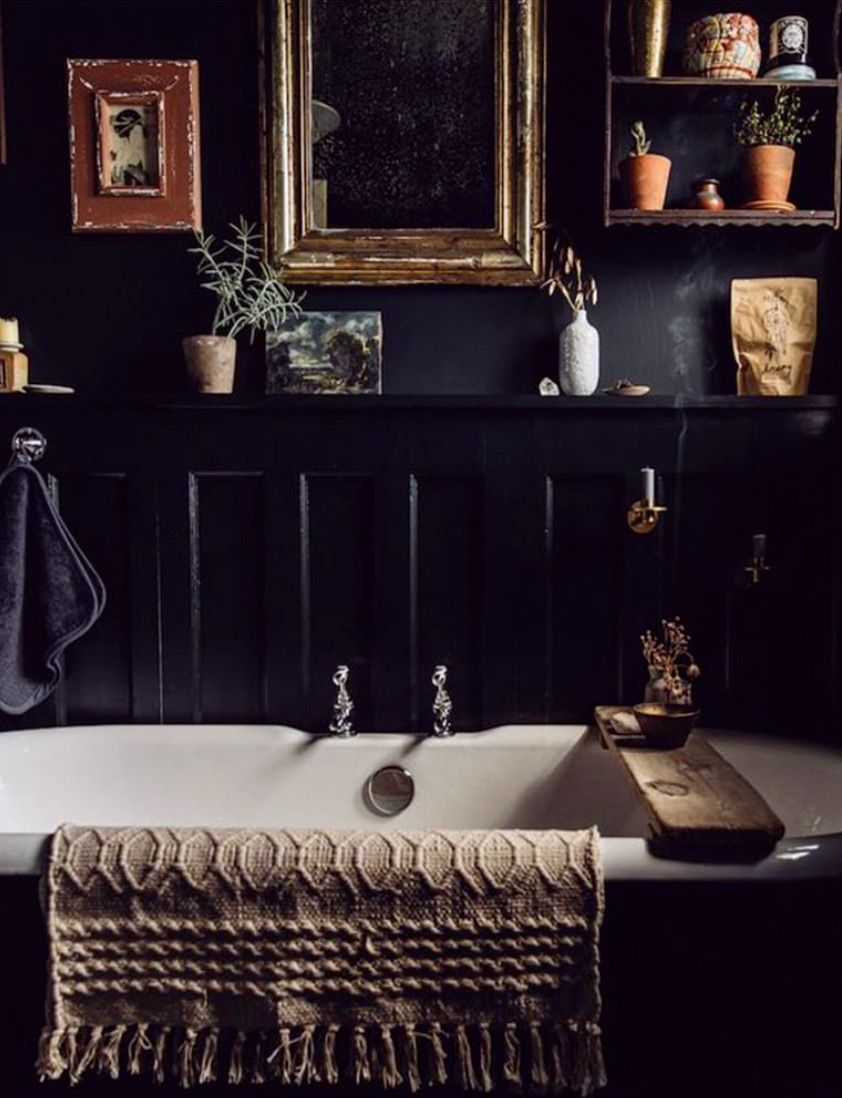 Photo of color story: black licorice. / sfgirlbybay