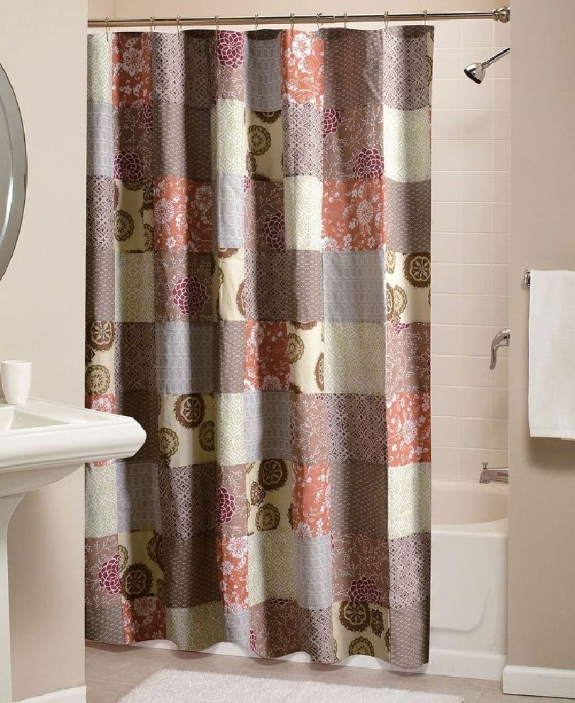 Earth Tones, Shower Curtains