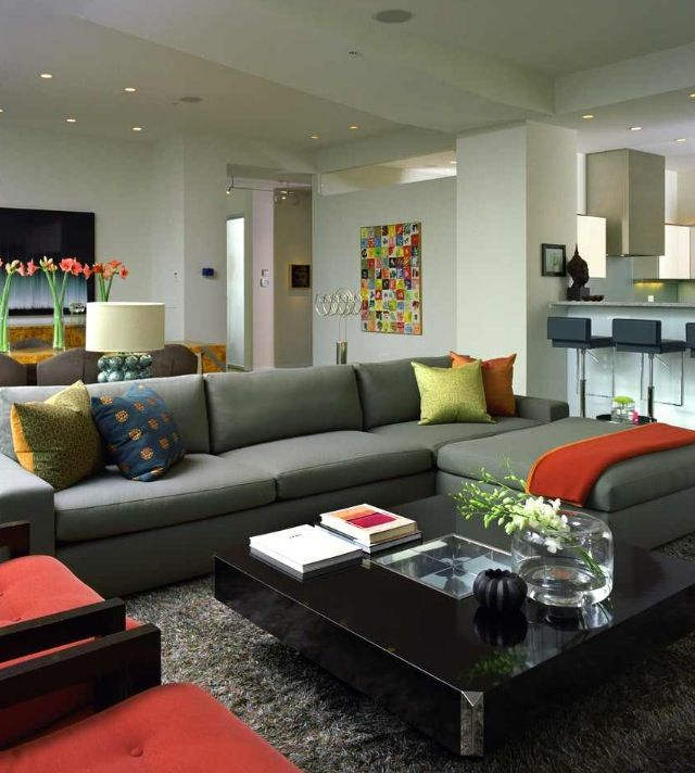 Coffee Table Styling Living Room Grey Sectional Sofas Living Room Modern Grey Living Room
