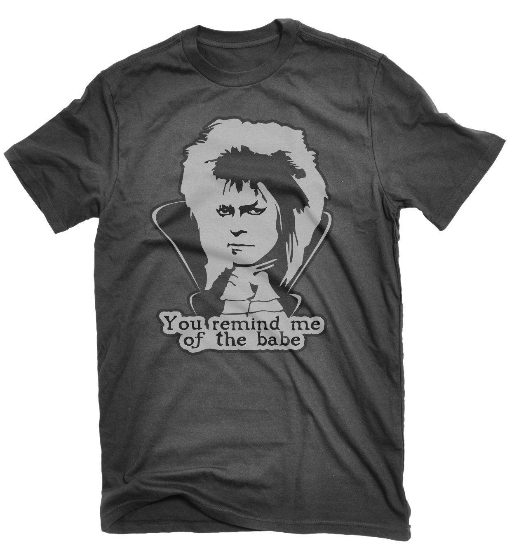 David bowie tshirt labyrinth 1986 amazoncouk clothing