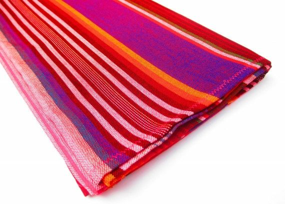 Mexican Table Runner, Authentic Serape Fabric Table Cloth From Mexico, Table  Linen, Aztec