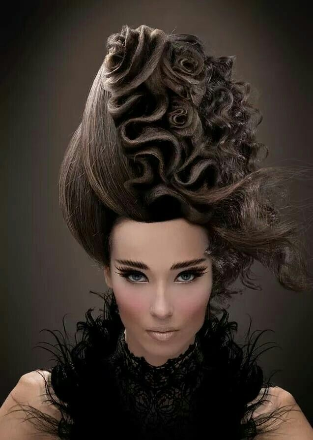 Avant Garde Hairstyle ~ Great For A Pop Video! | M.U.H.A. in ...