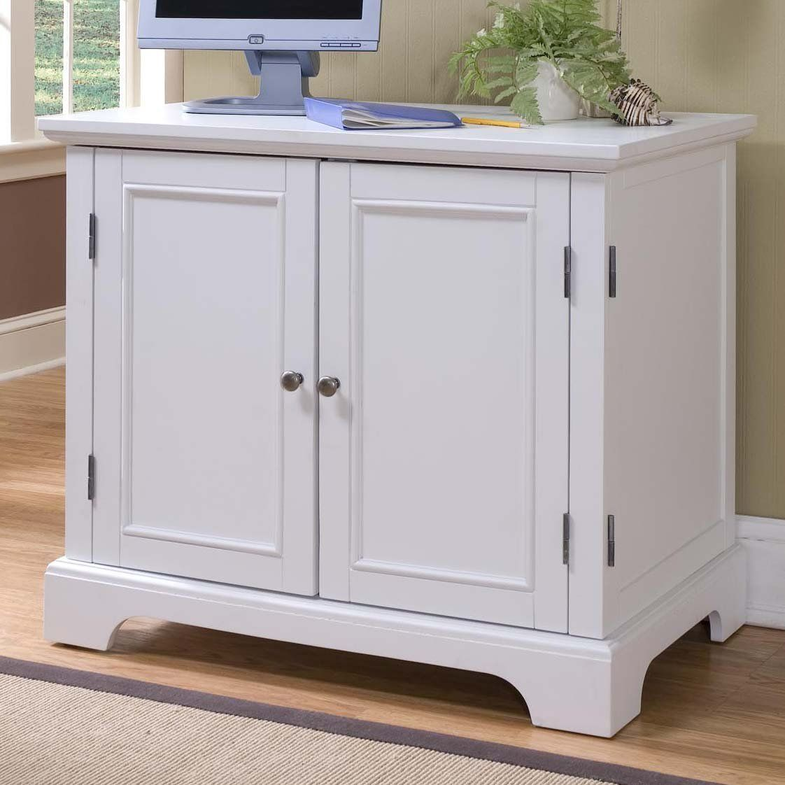Home Styles Naples Compact Computer Cabinet At Atg S Browse Our Component Cabinets All With Free Shipping And Best Price Guaranteed