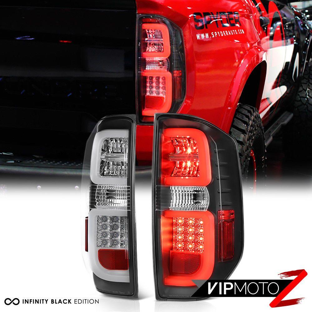 2014 2018 Toyota Tundra Artic Neon Tube Led S M D Black Tail Lights Assembly Ebay Link Toyota Tundra Tundra Toyota