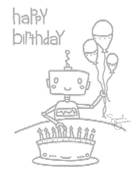 Remarkable Ascii Art Birthday Cake Beautiful 600800 Kunst Funny Birthday Cards Online Alyptdamsfinfo