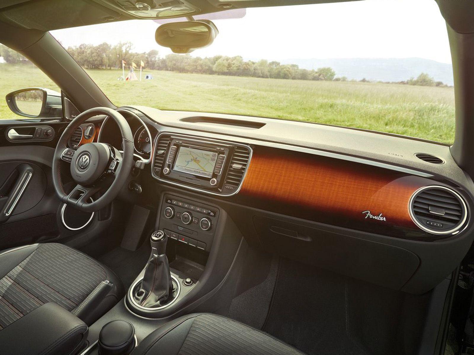 2013 volkswagen beetle fender edition interior