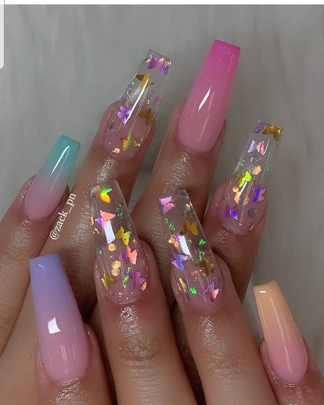 Muaannouncer On Instagram Would You Rock Beautiful Nails Yay Or Nay C Summer Acrylic Nails Best Acrylic Nails Coffin Nails Designs