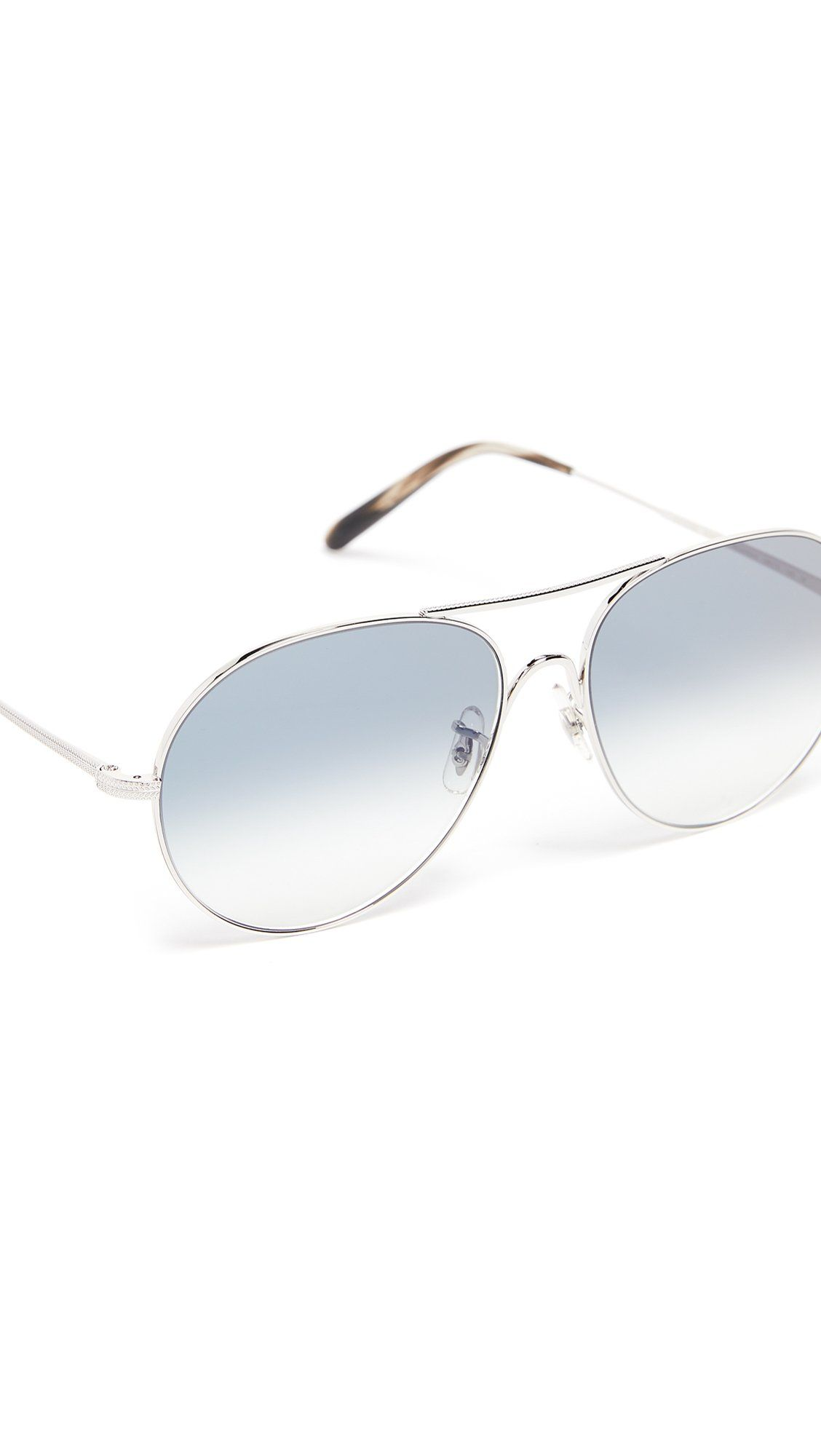 af616eb6d8a Oliver Peoples Eyewear Mens Rockmore Sunglasses Silver Sapphire One Size    You can find out more details at the link of the image.
