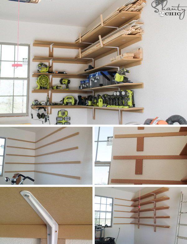 26 Clever Garage Storage u0026 Organization Ideas & 26 Clever Garage Storage u0026 Organization Ideas | Diy garage shelves ...