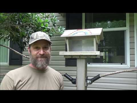 How to make an anti squirrel bird feeder with an electric fence charger