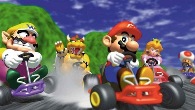 The Nintendo 64 Turned 20 Today These Are Its Greatest Driving Games Mario Kart 64 Mario Kart Mario