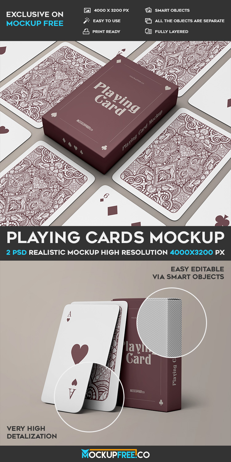 Playing Cards V02 2 Free Psd Mockups Download Mockup Free Psd Mockup Psd Card Template