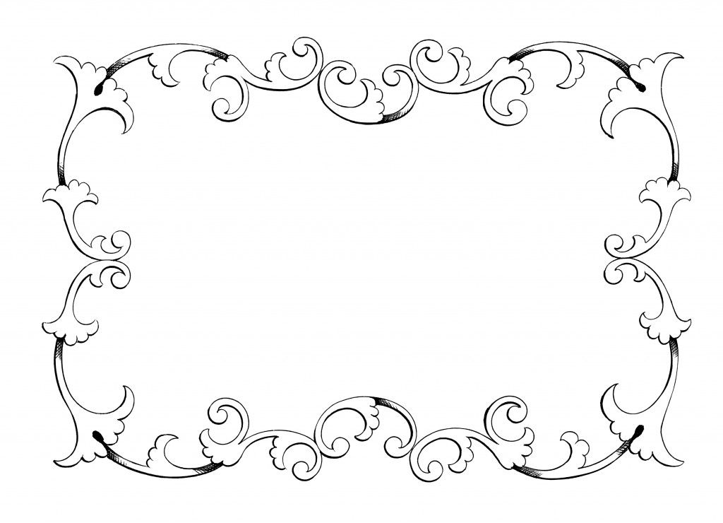 Clip Art Free Frame Frame Border Ornament Decorative