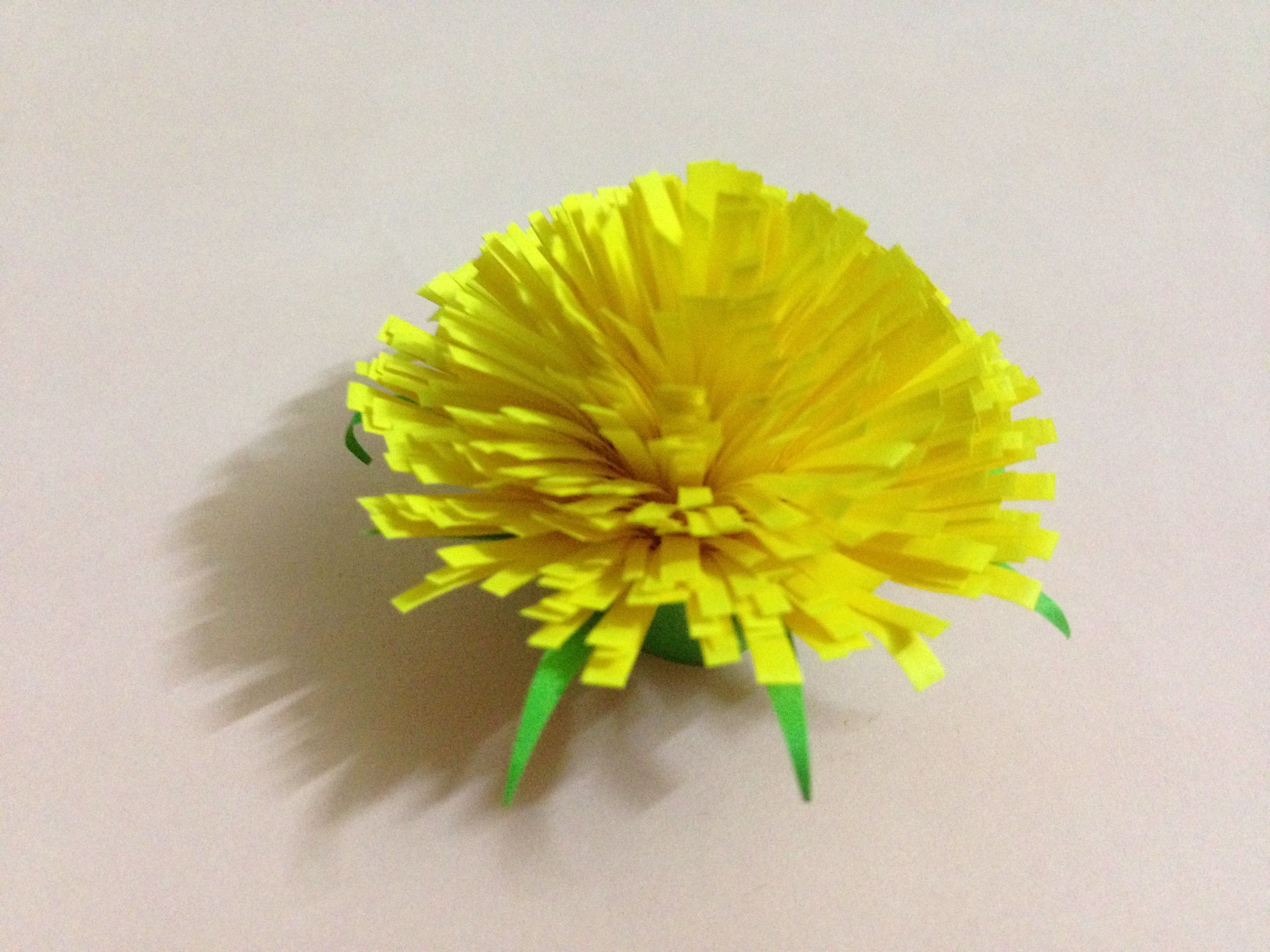 How To Make Marigold Paper Flower Easy Origami Flower Diy Paper