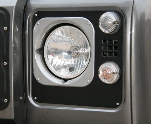 Land Rover Defender TD5 Style Headlamp Surround Upgrade Kit