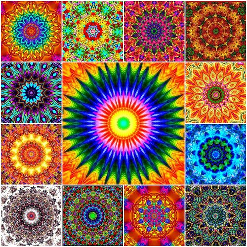 Ate My Crayons Kaleidoscopes by Ate My Crayons, via Flickr