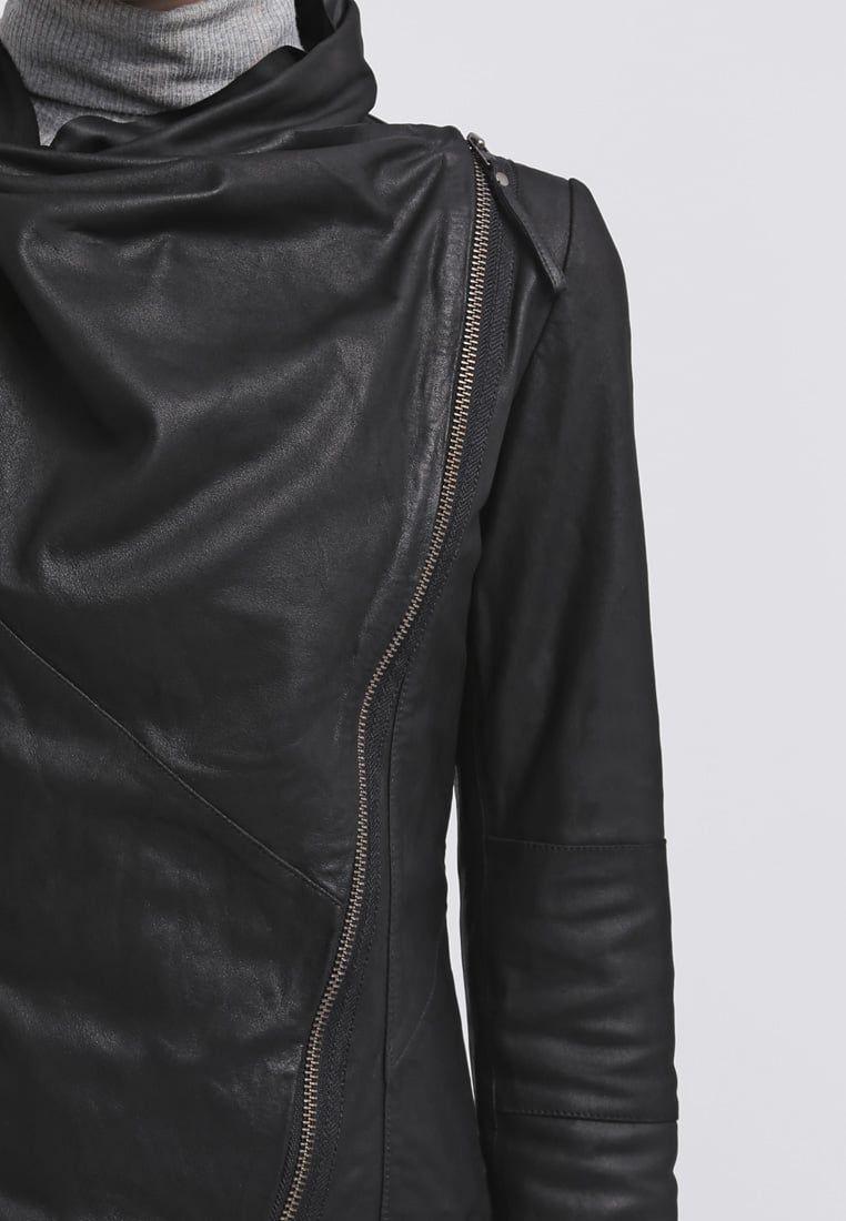 VALENTINE Leren jas black @ Zalando.nl  </p> </div> <div class=