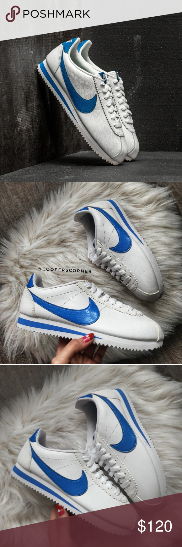 NEW Nike Classic Cortez Leather SE BlueJay (Rare) New in box 2a7ac946a