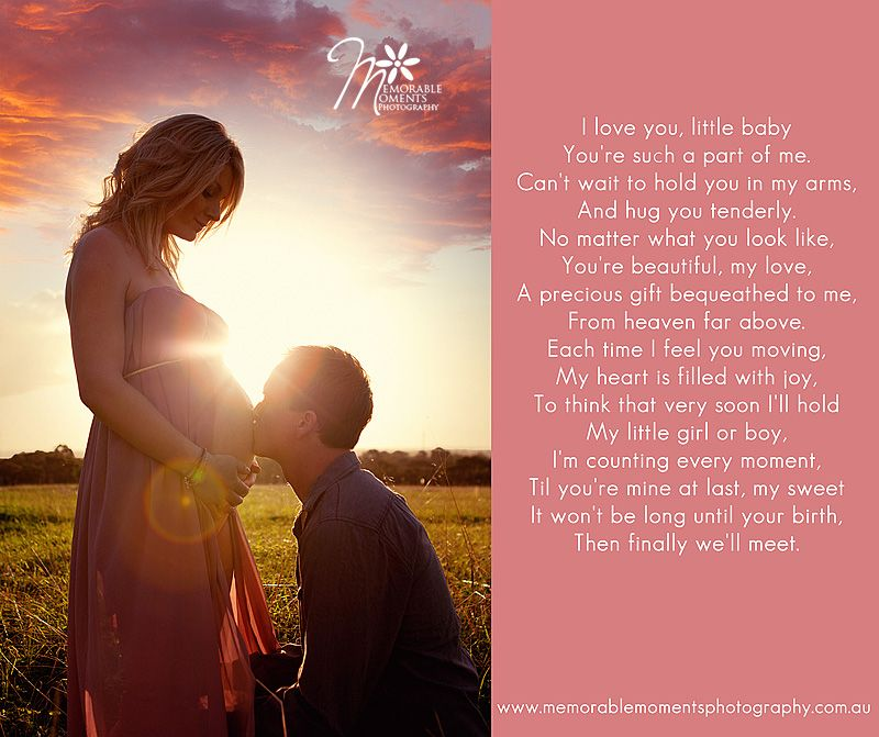 Baby Poems And Quotes: Maternity Poem For Photography