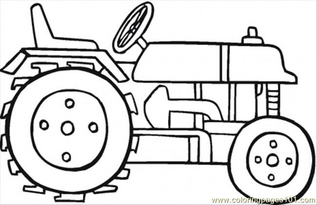 Coloring Pages Farmall Tractors. Tractor Coloring Pages For Kids pdf printable Moderntractorcoloringpage ikenl jpg 650 422 pixels  Cake